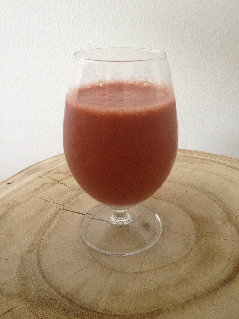 aardbeien peper smoothie